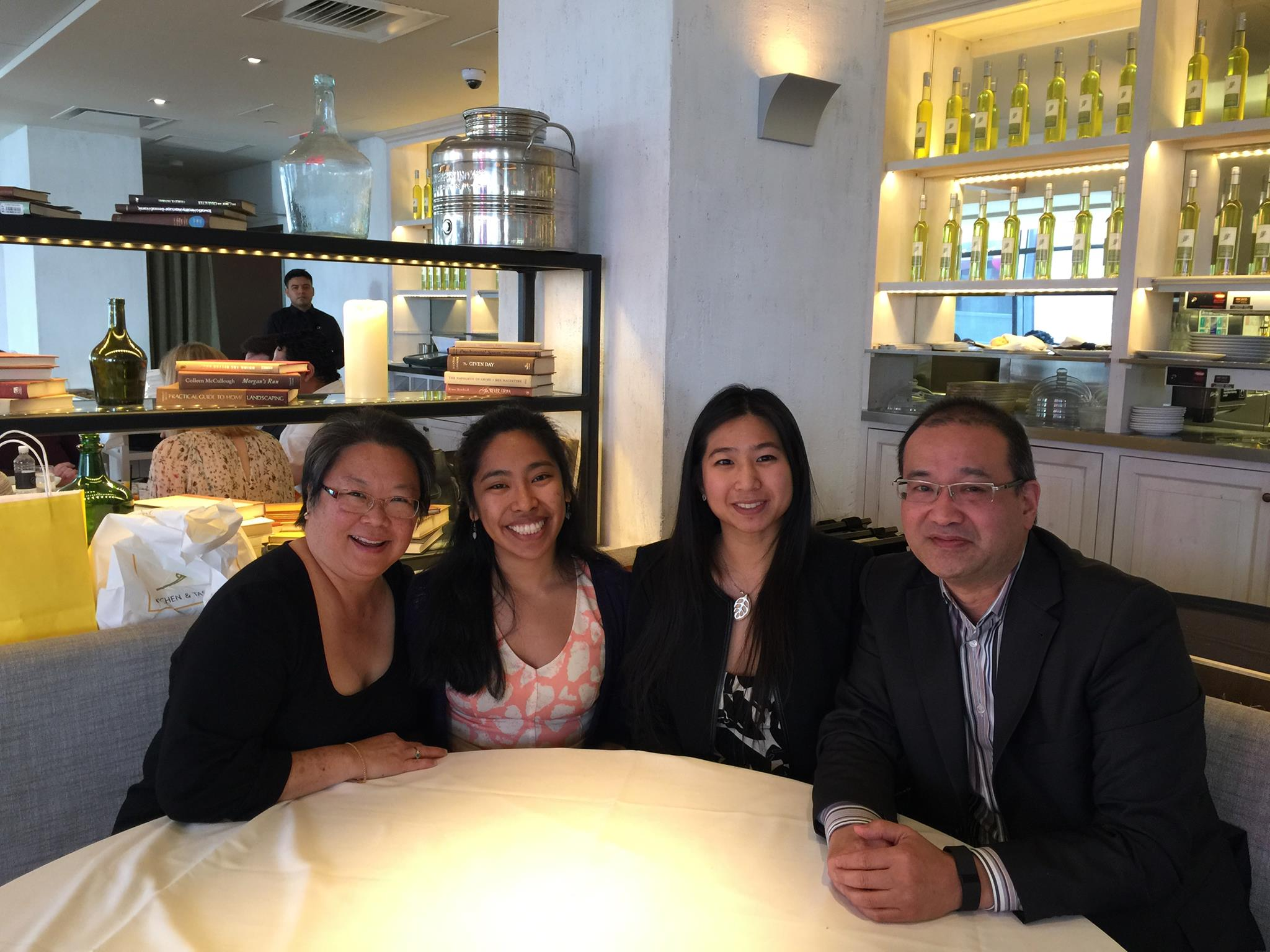 AARP's Multicultural Leadership, Asian American and Pacific Islander (AAPI) Audience Team. (L to R: Daphne Kwok, Ryann Tanap, June Kao, and Ron Mori)